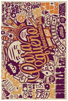Illustration collection 2 by ChocoToy , via Behance