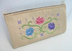 Embroidery Library - Machine Embroidery Designs Inspired Project Page - make up caddy
