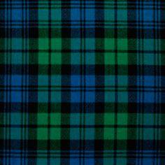 Black Watch Plaid - a Scottish classic