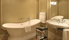 Luxury Hotel Johannesburg, The Monarch Hotel Clawfoot Bathtub, Corner Bathtub, Traditional, Luxury, Modern, Bathrooms, Clawfoot Tub Shower, Trendy Tree, Corner Tub
