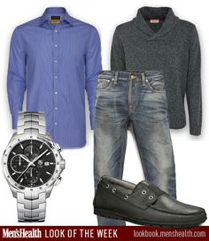 Watch: Tag HeuerShirt and Sweater: Thomas PinkShoe: UggJeans: Nudie