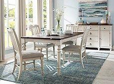 Kenton Ii Adjustable Height Dining Table W Leaf Nifty