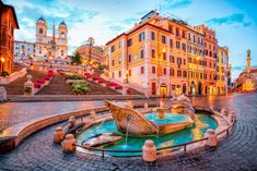 Rome Architecture, Voyage Rome, English Romantic, Lovely Apartments, Piazza Navona, Shopping Street, Rome Travel, Champs Elysees, Luxor Egypt