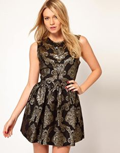Search for baroque dress at ASOS. Shop from over styles, including baroque dress. Discover the latest women's and men's fashion online Metallic Party Dresses, Holiday Party Dresses, Dressy Dresses, Summer Dresses, Baroque Dress, Glitter Jacket, Blazers, Oasis Dress, New Years Outfit