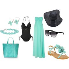 Thinking of Hawaii..., created by jenniebel on Polyvore