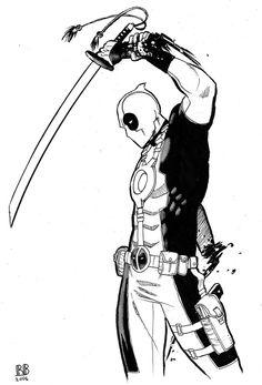 Deadpool needs a hand by ReillyBrown.deviantart.com on @deviantART