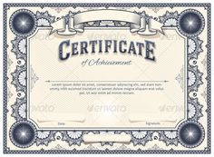 Vector art certificate design template work inspiration certificate template yelopaper Choice Image
