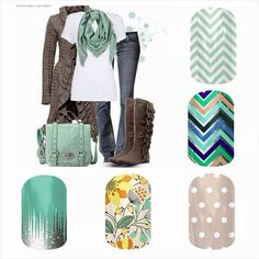 Add Jamberry to your wardrobe to get that perfect pop for any outfit or occasion! Check them out now! www.brittny.jamberrynails.net