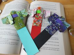 Origami Kimono Bookmarks by TheSereneDragon on Etsy, $6.00