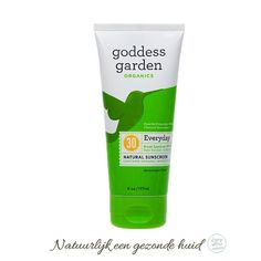 Natuurlijke zonnebrandcrème SPF 30