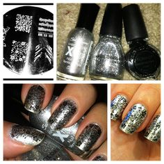 Nailed It!: METALLIC INTERTWINE, nails, nail stamping.