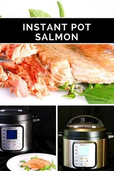 Honey Balsamic Salmon in just a few minutes with the Instant Pot! Perfect!!