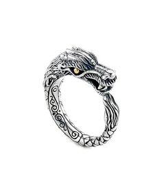 Look at this #zulilyfind! Two-Tone Dragon Band Ring #zulilyfinds
