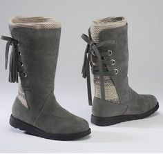 My Nana just bought these for me!! :D Can't wait to see how they look and feel! :DD Luanna Boot by Muk Luks