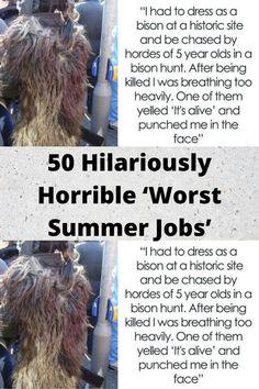50 #Hilariously #Horrible 'Worst #Summer Jobs' Bridal Nail Art, Bridal Makeup, Funniest Memes, Funny Memes, Funny Facts, Wtf Funny, Funny Tweets, Worst Wedding Dress, Romantic Wedding Receptions