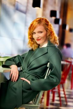 Ana Geislerova Natural Redhead, Red Eyes, Blue Shoes, Fashion Photo, Red Hair, Beautiful Women, Actresses, Fantasy, Stars
