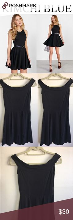 ✨New Listing - Kimchi Blue UO Black skater dress✨ ✨✨ Kimchi Blue UO Black skater dress✨ Size Small ✨ Soft, comfy, cute cotton dress✨ 95% cotton 5% spandex✨ Lightly worn, excellent used condition✨ fits xs - smaller bust medium✨ Best fits a small✨ Kimchi Blue Dresses Midi