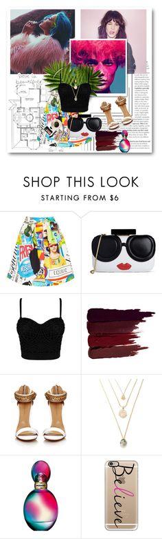 """ehtujyti"" by horan-69 on Polyvore featuring мода, Moschino, Alice + Olivia, Serge Lutens, Missoni, Bobbi Brown Cosmetics и Casetify"