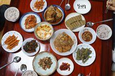 seollal feast! Happy New Year :) #feast #koreanfood #korea #seollal #lunarnewyear #food