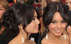 2009 Oscars: Vanessa Hudgens Loose Updo