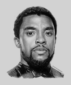 Wakanda Forever, My tribute to Black Panther - Pencil Drawing