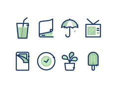 Some Icons by Vy Tat