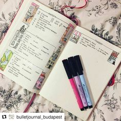 #Repost @bulletjournal_budapest with @repostapp ・・・ Still do good feeling having some time to decorate my bujo properly. One step closer for a better way using it in my every day life.  Do you use your bujo all day or just checking once in a day?  #mik #ikozosseg #budapest #hungary #bulletjournal #bujo #bulletjournaling #bohoberrytribe #wearebujo #bujojunkies #bulletjournaljunkies #daily #showmeyourplanner #planner #planning #plannerlove #planningcommunity #stationery #bulletjournallove…