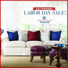 1000 images about west coast living thomasville oc on for Labor day sale furniture