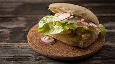 Recettes - Signé M - TVA - Sandwich « po'boy » aux huîtres frites