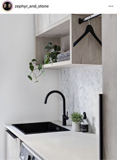 Design Duo Zephyr & Stone unveil their latest project. Laundry Decor, Laundry Room Design, Laundry In Bathroom, Home Design, Küchen Design, Modern Laundry Rooms, Laundry Room Inspiration, Home Builders, Living Room Designs