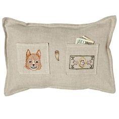 Coral & Tusk - Brooklyn, NY Fox Tooth Fairy Pillow