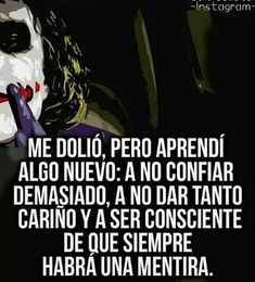 Smart Quotes, Sad Love Quotes, Sarcastic Quotes, Funny Quotes, Life Quotes, Badass Quotes, Joker Frases, Joker Quotes, Joker And Harley Quinn