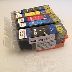 Canon Edible Ink 5 Pack Canon PGI 250 CLI 251 HIGH YIELD 250 251 MG5420, MG5520, MG6420, MX922 CLI-251BK, CLI-251C, CLI-251M, CLI-251Y, PGI-250BK CAKE PRINTING Printer-Mate ^^ Quickly view this special deal, click the image : Baking supplies