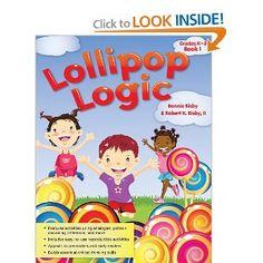 eBook Lollipop Logic Book (PDF): Lollipop Logic Book Skills,Other, Logic And Critical Thinking, Critical Thinking Activities, Literacy Activities, Thinking Strategies, Educational Activities, Toddler Activities, 12th Book, Book 1, Logic Book