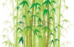Bosque De Bambú Ilustraciones Vectoriales, Clip Art Vectorizado ...