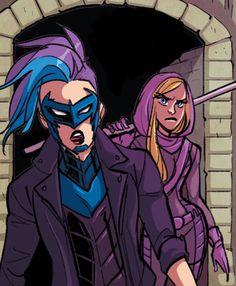 Bluebird (Harper row)  And Spoiler (Stephanie brown)