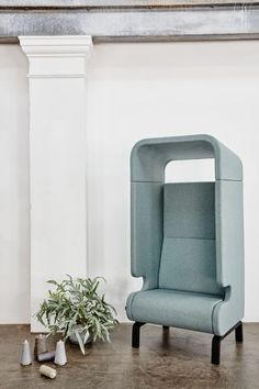 MATERIA point easy chair interior