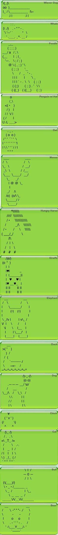 textpics ANIMALS