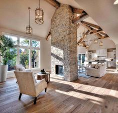 Definitive Solution for Barn House Plans - sitihome Home Interior Design, Interior Architecture, Luxury Interior, Interior Walls, House Goals, Home Fashion, My Dream Home, Great Rooms, Future House