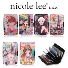 BOBBI BUSINESS CARD HOLDER EXCLUSIVE PRINT EDITION by Nicole Lee    #nicolelee #accessories #cardholder #fashion #style