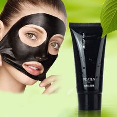 2016 Blackhead Remover,Black Mask Deep Cleansing Face Sheet Mask Black Head Mud Cosmetic Face Mask For Acne Treatment Face Care
