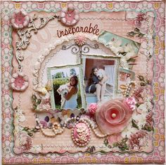 Scrapbook layout made by design team member Gabrielle Pollacco using Websters Pages Western Romance collection & Glue Arts Adhesive