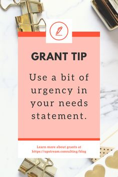 The competition for grant funding is fierce. Stand out by adding four things to every needs statement: relevance, data, emotion, and urgency. Grant Proposal Writing, Grant Writing, Writing Tips, Business Grants, Craft Business, Bakery Business, Go Fund Me Tips, Government Grants For Women, Charity Gifts
