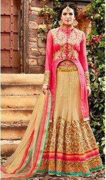 Circular Style Net Designer Lehenga Choli in Beige Color | FH518378765 #heenastyle, #designer, #lehengas, #choli, #collection, #women, #online, #wedding , #Bollywood, #stylish, #indian, #party, #ghagra, #casual, #sangeet, #mehendi, #navratri, #fashion, #boutique, #mode, #henna, #wedding, #fashion-week, #ceremony, #receptions, #ring , #dupatta , #chunni , @heenastyle , #Circular , #engagement