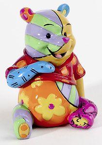 Winnie the Pooh - Winnie the Pooh Mini Character - Romero Britto - World-Wide-Art.com -