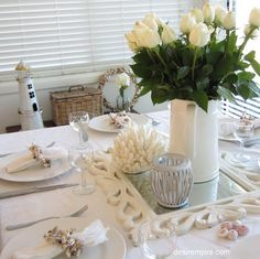 Coastal White Table
