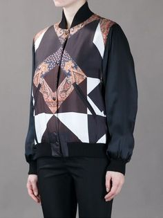 Givenchy - paisley bomber jacket 3