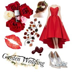 Red by explorer-14318814164 on Polyvore featuring polyvore beauty Zac Posen
