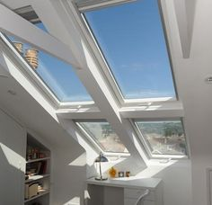 this style of window lets in a lot of light - all good!