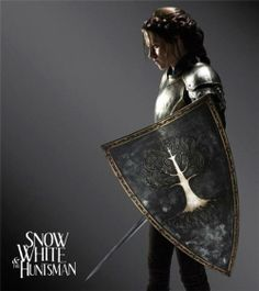 Snow White (Kristen Stewart) em Snow White and the Huntsman (2012)